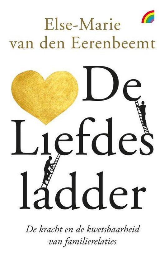 Boek cover De liefdesladder van Else-Marie van den Eerenbeemt (Paperback)