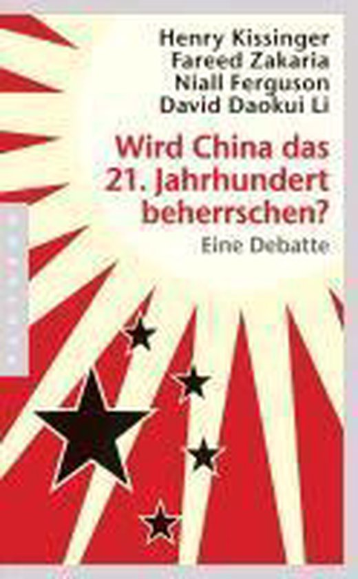 Boek cover Wird China das 21. Jahrhundert beherrschen? van Henry A. Kissinger (Paperback)