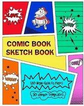 Comic Book Sketch Book