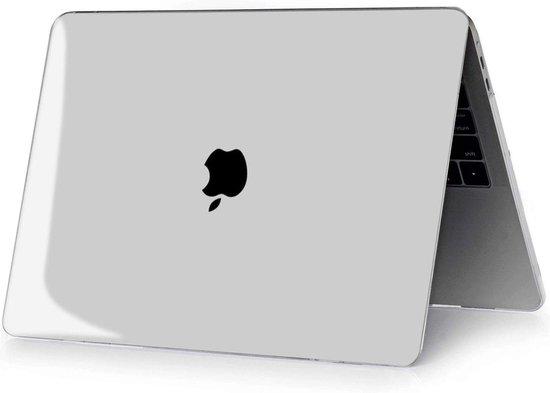 MacBook Air 13 inch Hard Case - MacBook Air 2020 Case - MacBook Air 13 inch 2020 / 2019 / 2018 - MacBook Hoes - Transparant - iCall