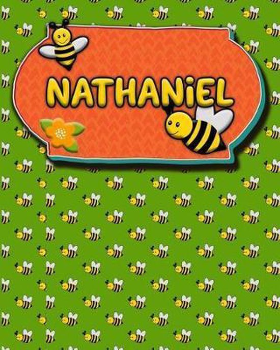 Handwriting Practice 120 Page Honey Bee Book Nathaniel