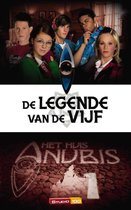 Boek cover Het huis Anubis 1 - De legende van de vijf van Studio 100
