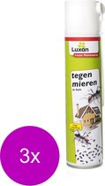 Luxan Mierenspray - Insectenbestrijding - 3 x 400 ml