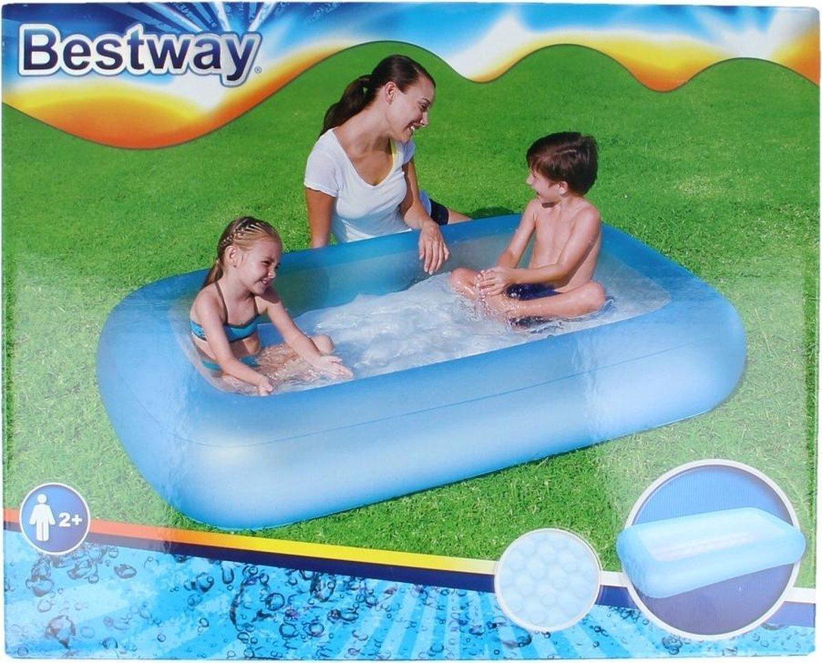 Bestway Babybad Rechthoek Aquababes 165 Blauw