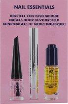Herome Nail Essentials Set (Roze) – Beschadigde nagels na kunstnagels of medicijngebruik; binnen no time weer mooie en gezonde nagels!