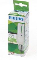 Philips Genie spaarlamp ESaver 8W 827 E27 (Prijs per 5 stuks)