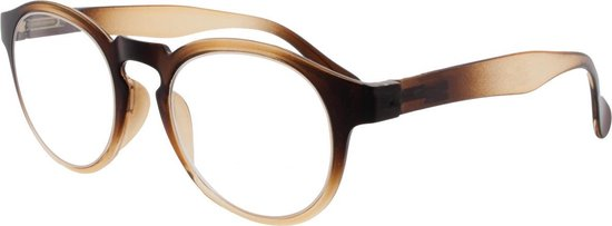 Icon Eyewear KCB216 Leesbril Coona +2.50 - Bruin / Caramel - Spring hinge