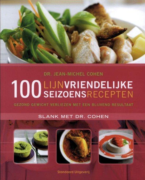 Cover van het boek '100 lijnvriendelijke seizoensrecepten' van Jean-Michel Cohen