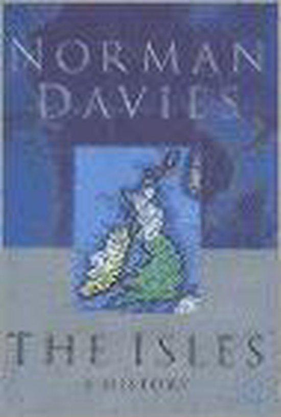 Boek cover The Isles van Norman Davies (Hardcover)