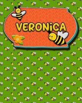 Handwriting Practice 120 Page Honey Bee Book Veronica