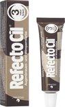 RefectoCil Wenkbrauw- en Wimperverf - Nr. 3 Bruin - 15 ml