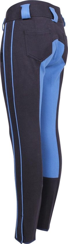 Epplejeck Rijbroek Shetan Kids - Dark Blue-light Blue - 140