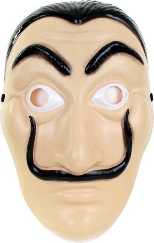 Dali Masker (La Casa de Papel) - hard plastic