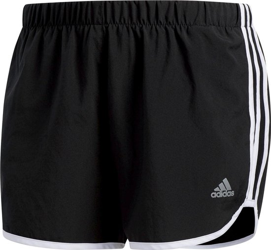 adidas Marathon 20  Sportbroek - Maat XL  - Vrouwen - zwart/wit