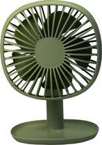 Guardo ventilator - oplaadbaar via USB - Groen