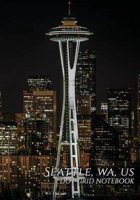 Seattle, Wa, Us Dot-Grid Notebook