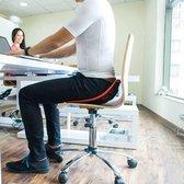 Backjoy SitSmart Posture Plus Zwart - Rugsteun Zithouding Bureaustoel Auto - Rugpijn Onderrug
