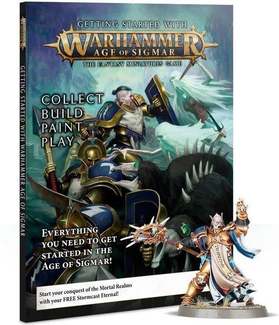 Afbeelding van het spel Warhammer age of sigmar - Getting started with