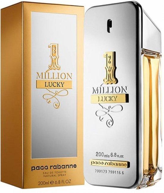 Paco Rabanne - Eau de toilette - 1 Million Lucky - 200 ml