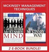 Boek cover McKinsey Management Techniques (EBOOK BUNDLE) van Ethan M. Rasiel