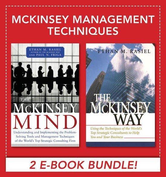 Boek cover McKinsey Management Techniques (EBOOK BUNDLE) van Ethan M. Rasiel (Onbekend)