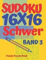 Sudoku 16x16 Schwer - Band 3