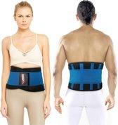 NAZROM® Rugband - Rugbrace Voor Onderrug - Extra Rug ondersteuning & Onmiddellijke Pijnverlichting en Draagcomfort - L
