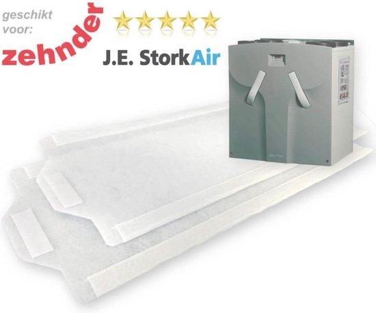 10 sets WTW filters voor J.E. Stork Air WHR 950/960 - DoosVoordeel