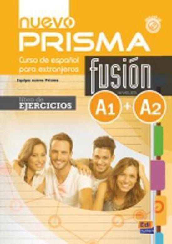 Boek cover Nuevo Prisma Fusion A1 + A2 van Nuevo Prisma Team (Onbekend)