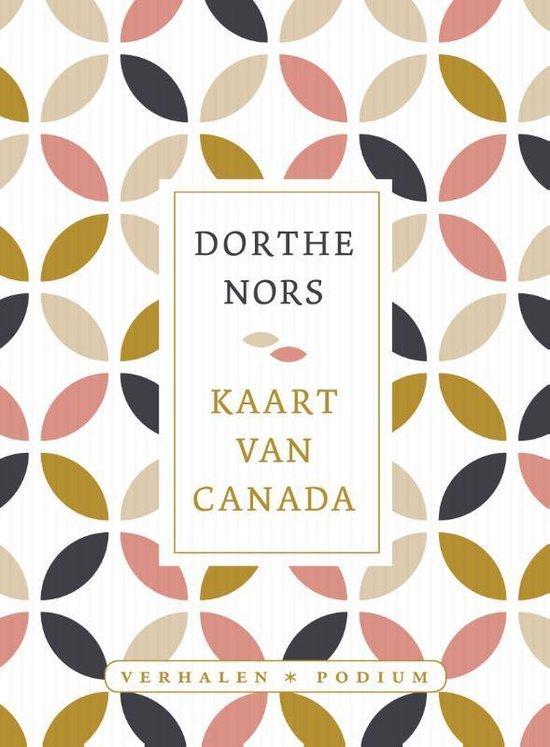 Kaart van Canada - Dorthe Nors  
