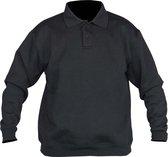 STØRVIK Polo Sweater 4 seizoenen Heren Zwart - Maat M - NAPOLI