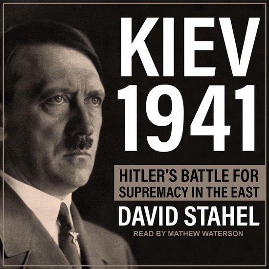 Boek cover Kiev 1941 van David Stahel (Onbekend)