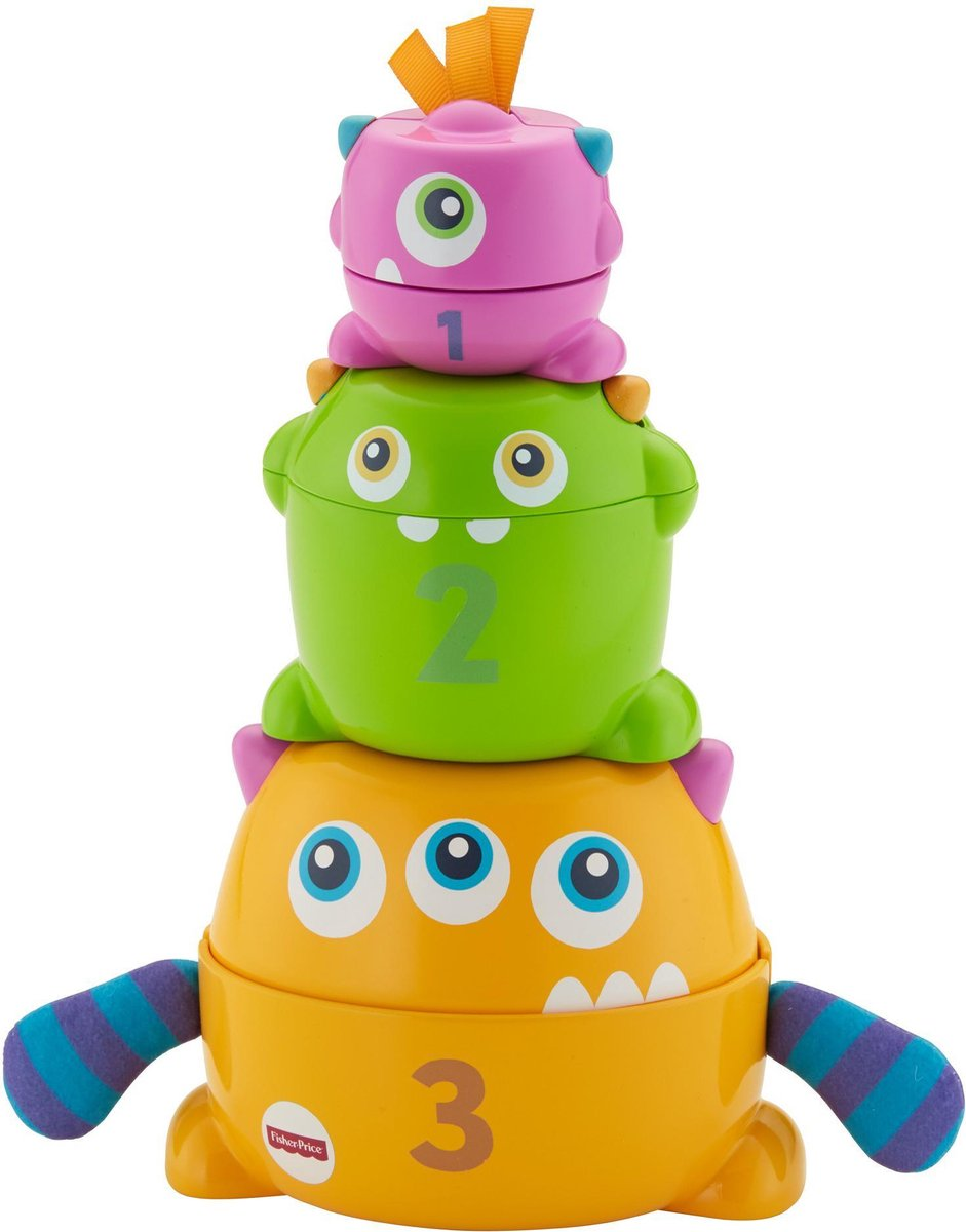 Fisher Price Stack & Nest Monsters