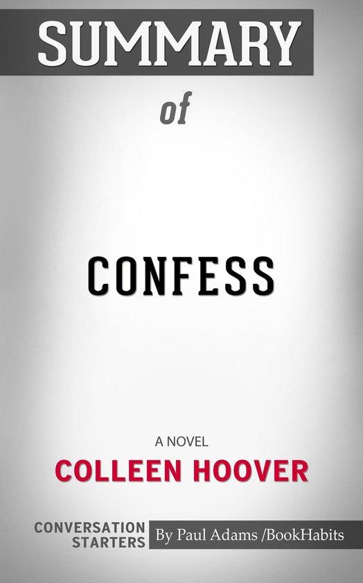 Boek cover Summary of Confess van Paul Adams