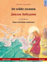 Sefa prentenboeken in twee talen - De wilde zwanen – Дивљи Лабудови (Nederlands – Servisch)