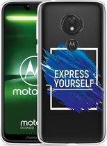 Moto G7 Power Hoesje Express Yourself