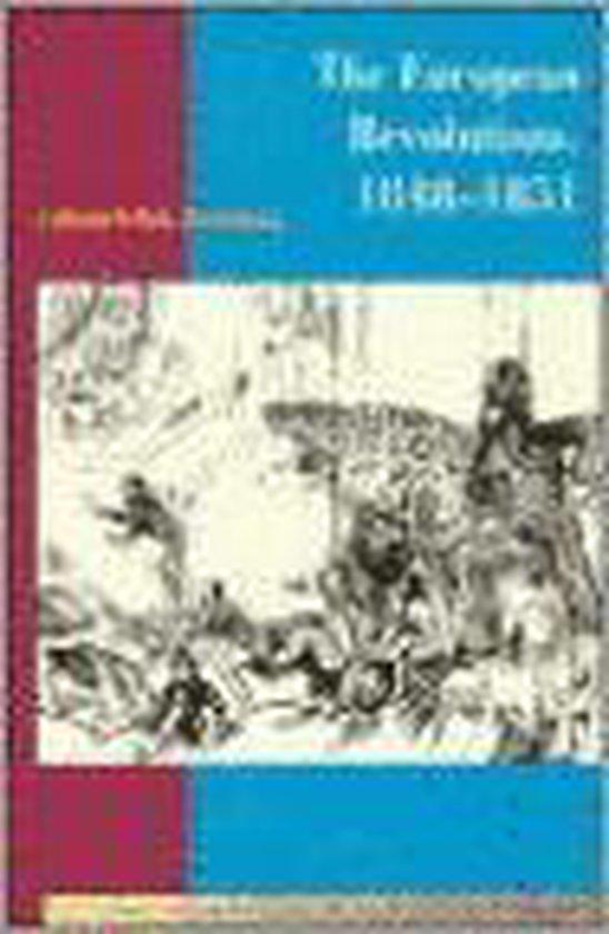 Boek cover The European Revolutions, 1848-1851 van Jonathan Sperber (Paperback)