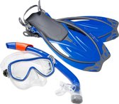 Aqua Lung Sport Yucatan Pro - Snorkelset - S/M (38-41) - Blauw