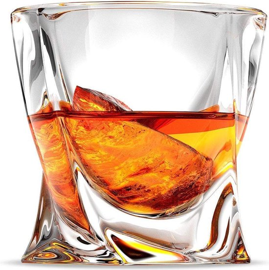 SOTA whisky glazen 'Original'  luxe geschenkset met 2 whiskyglazen - Irish Whiskey, Bourbon, Malt - 300ml Loodvrij Kristalglas