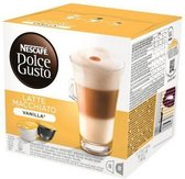 Koffiecapsules Nescafé Dolce Gusto Latte Macchiato Vanille (16 capsules goed voor 8 kopjes koffie)