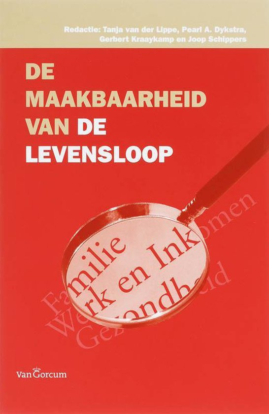 Cover van het boek 'De maakbaarheid van de levensloop / druk 1'