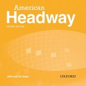 American Headway - second edition 2 class audio-cd's (3x)