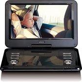 Lenco DVP-1210 - Portable DVD-speler met USB, SD, AV - 12 inch - Zwart