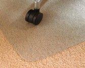 Vloerbeschermer PVC - Voor tapijt - 90x120cm