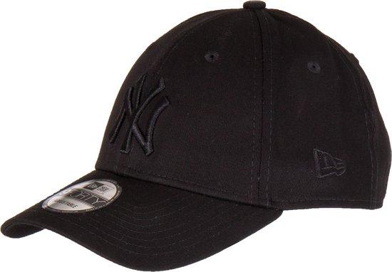 New Era MLB LEAGUE ESS 940 New York Yankees Cap - Black / Black - One size