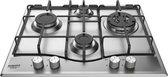 Hotpoint PCN 641 T/IX/HA kookplaat Roestvrijstaal Ingebouwd Gaskookplaat