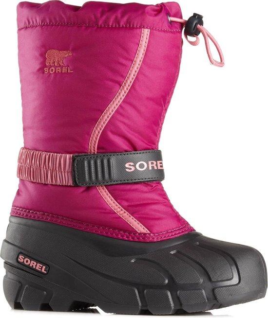 Sorel Snowboots - Maat 32 - Unisex - roze/zwart