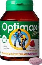 Optimax Scholieren Mutlivitaminen Weerstand - Framboos - 60 kauwtabletten