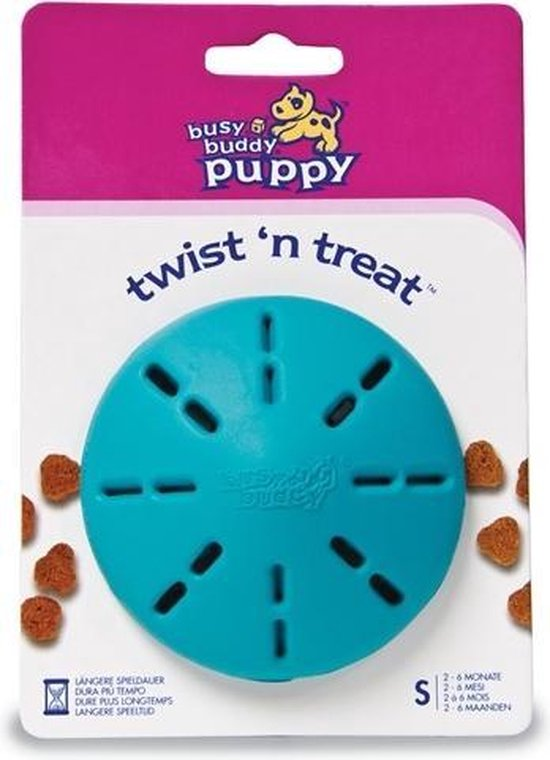 Busy Buddy Puppy Twist 'n Treat - M