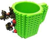 build a brick Lego Mok - groen